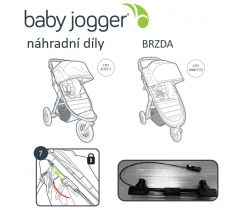 Brzda set Baby Jogger City Mini GT/Elite