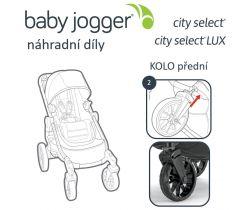 Přední kolo Baby Jogger City Select Lux (i Select)