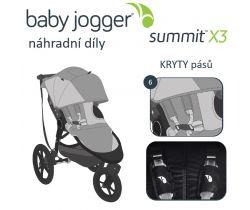 Kryty pásů Baby Jogger Summit X3