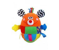 BabyMix Myška kývací hračka