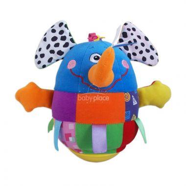 BabyMix Sloník kývací hračka
