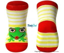 BabyOno 588/01 bavlněné ponožky 6m+