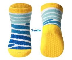 BabyOno bavlněné protiskluzové ponožky 6+  571/02