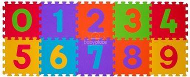 BabyOno pěnové puzzle čísla 10 ks Nr. Kat 274