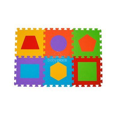 BabyOno pěnové puzzle tvary 6 ks Nr. Kat. 279