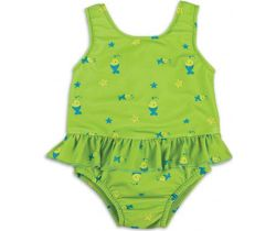 Bambino Mio dívčí plavky vcelku Lime