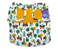Plenkové kalhotky  Miosoft Bambino Mio Raccoon Retreat