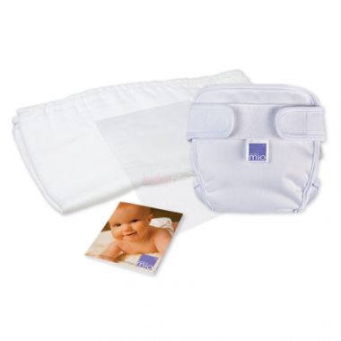 Bambino Mio testovací balíček barvy bílé