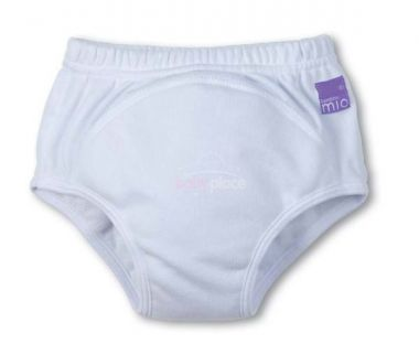 Bambino Mio tréninkové kalhotky bílé