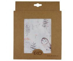 Bambusová mušelínová plena 120x120 cm Eko