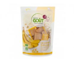 Banánové polštářky 50 g Good Gout Bio