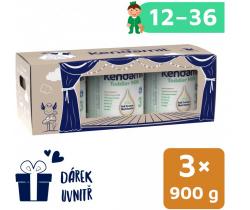 Batolecí mléko 3x900 g DHA+ Kendamil 3 Pohádkové balení