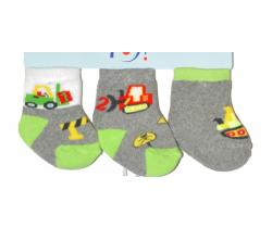 Bavlněné ponožky 3 ks Yo Builder
