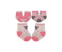 Bavlněné ponožky 3 ks Yo Owl/Bear/Fawn