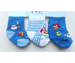 Bavlněné ponožky 3 ks Yo Space