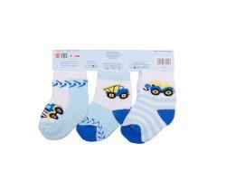 Bavlněné ponožky 3 ks Yo Traffic Jam