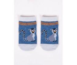 Bavlněné ponožky YO Blue Lemur