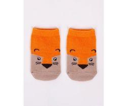 Bavlněné ponožky YO Brown Fox