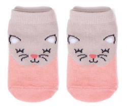 Bavlněné ponožky YO Pink Cat