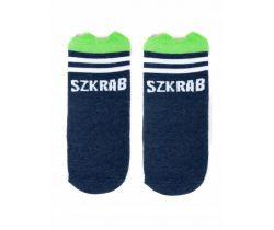 Bavlněné ponožky YO s oušky Baby Dark Blue