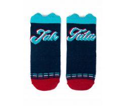 Bavlněné ponožky YO s oušky Like Dad Blue