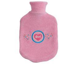 Dětský termofor Bébé-Jou  s froté obalem Pink Girl