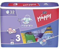 Bella Baby Happy Midi pleny (5-9 kg) 32 ks