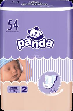 Pleny Bella Baby Panda Mini 2 (3-6 kg) 54 ks