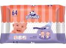 Vlhčené ubrousky Bella Baby Panda 64 ks