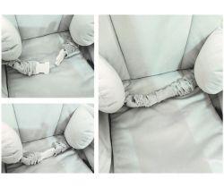 Bezpečnostní pásy pro houpačku BabySteps VelvetSwing