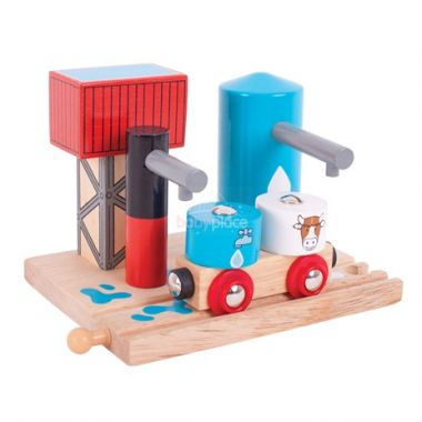 Napáječka na vodu a mléko Bigjigs Rail