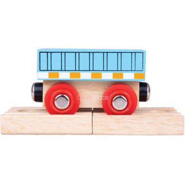 Vagón Bigjigs Rail Modrý