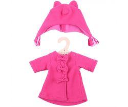 Kabátek s čepičkou pro panenku 38 cm Bigjigs Toys Červený