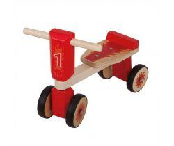 Dřevěné odrážedlo Bigjigs Toys Tříkolka