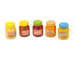 Dřevěné potraviny Bigjigs Toys Sklenička 1ks