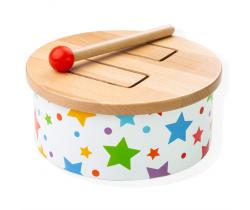 Dřevěný bubínek Bigjigs Toys Star