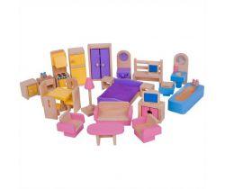 Dřevěný nábytek do domečku pro panenky Bigjigs Toys