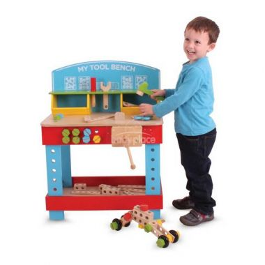 Dřevěný pracovní stůl Bigjigs Toys