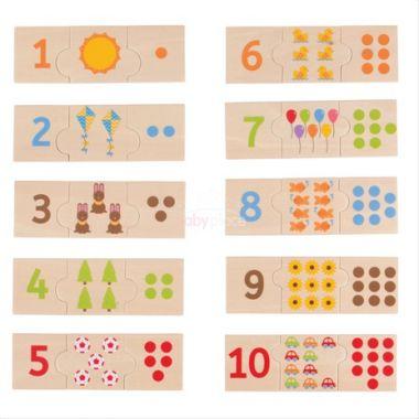 Edukativní puzzle Bigjigs Toys Počítání