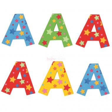 Hvězdičkové písmenko Bigjigs Toys A