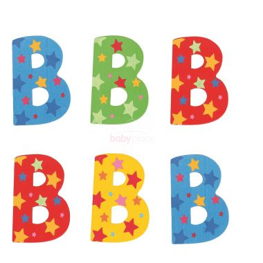 Hvězdičkové písmenko Bigjigs Toys B