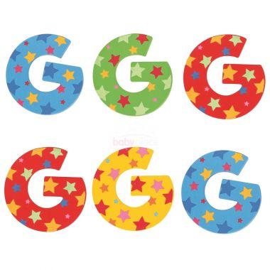 Hvězdičkové písmenko Bigjigs Toys G