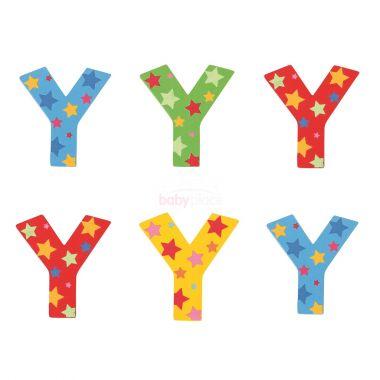 Hvězdičkové písmenko Bigjigs Toys Y