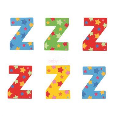 Hvězdičkové písmenko Bigjigs Toys Z