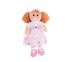 Látková panenka Bigjigs Toys Alice 38 cm