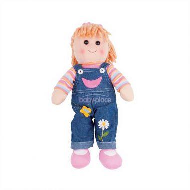 Látková panenka Bigjigs Toys Penny 38 cm