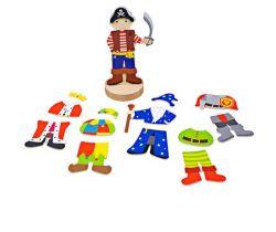 Magnetické oblékací puzzle Bigjigs Toys Mystické postavy