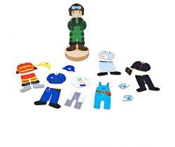 Magnetické oblékací puzzle Bigjigs Toys Profese