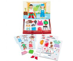 Magnetické oblékací puzzle Bigjigs Toys Šaty