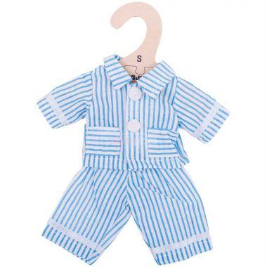 Pyžamo pro panenku 28 cm Bigjigs Toys Modré
